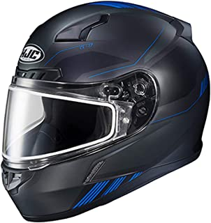 HJC Helmets CL-17 Combat Adult Snowmobile Helmet - MC-2SF / Large