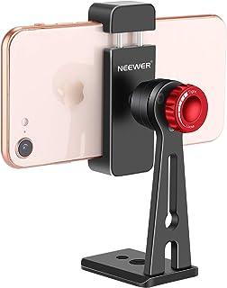 Neewer Metall mobiltelefonhållare klämma skrivbord stativ fäste adapter från 5,6–8,9 cm bredd
