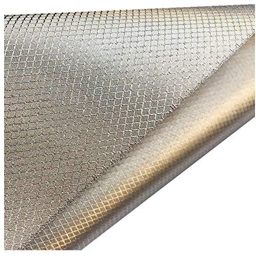 CEXTT EMF RF RFID abgeschirmte Anti-Interferenz-elektromagnetisches Schirm-Mobiltelefonsignal-leitfähiges Material, Strahlenschutzanzug, Umstandskleid, Vorhangtuch 1.1m breit (Size : 1m)