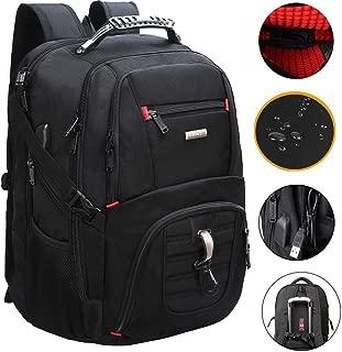 Extra Large Travel Laptop Backpack,TSA Durable College School Computer Bookbag