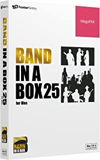 PG Music ピージーミュージック 自動作曲アプリBand-in-a-Box 25 for Mac MegaPAK バンド・イン・ア・ボックス Mac版