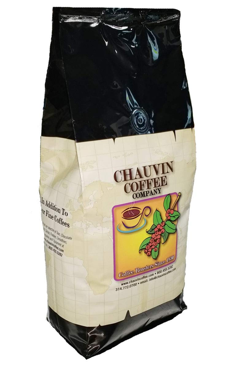 Chauvin Coffee - Jingle Bell Outstanding Java 2lb Bean High material Whole