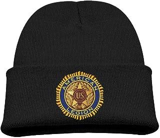 ADGoods Kids Children American Legion Logo Beanie Hat Knitted Beanie Knit Beanie For Boys Girls Gorra de béisbol para niños
