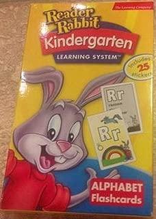 Reader Rabbit Kindergarten Learning System (Alphabet Flashcards)