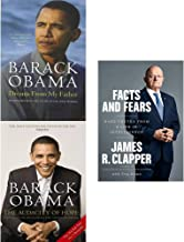 Dreams from my father, audacity of hope and facts and fears [hardcover] 3 books collection set
