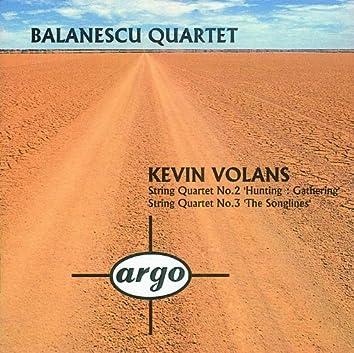 Volans: String Quartets Nos.2 & 3
