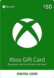 Best $50 Xbox Gift Card [Digital Code] Reviews