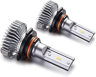 SEALIGHT 9006/HB4 LED Fog Lights Bulbs Cool Xenon White 4000 Lumen 6000K Upgrade Extremely Bright Nonpolarity