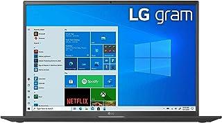 "LG gram Ultra-Lightweight (1,350g) Laptop (17Z90P-G.AA75A) 17"" WQXGA IPS DCI-P3 99% (Typ.), Intel Evo Platform W/ 11th Gen..."