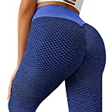 riou Leggings Push Up Mujer Mallas Pantalones Deportivos Alta Cintura Elásticos Pantalón de Yoga para Muje, Leggins Anticeluliticos Cintura Alta, para Yoga Running Gym Fitness
