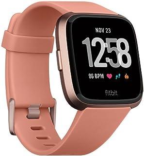 Fitbit Smartwatch Versa, color Oro, Rosa, Aluminio