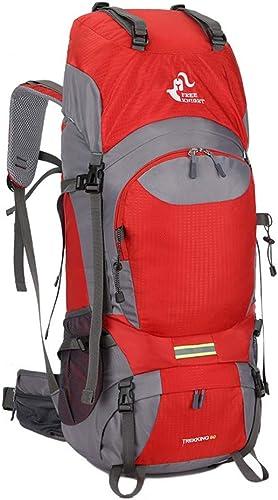 Camping Randonnée Voyage Sac à dos Voyage de haute capacité de sac à dos d'alpinisme en marchant le camping à l'extérieur de la proHommesade récréative épaules multifonctionnelles neutres appropriées pou