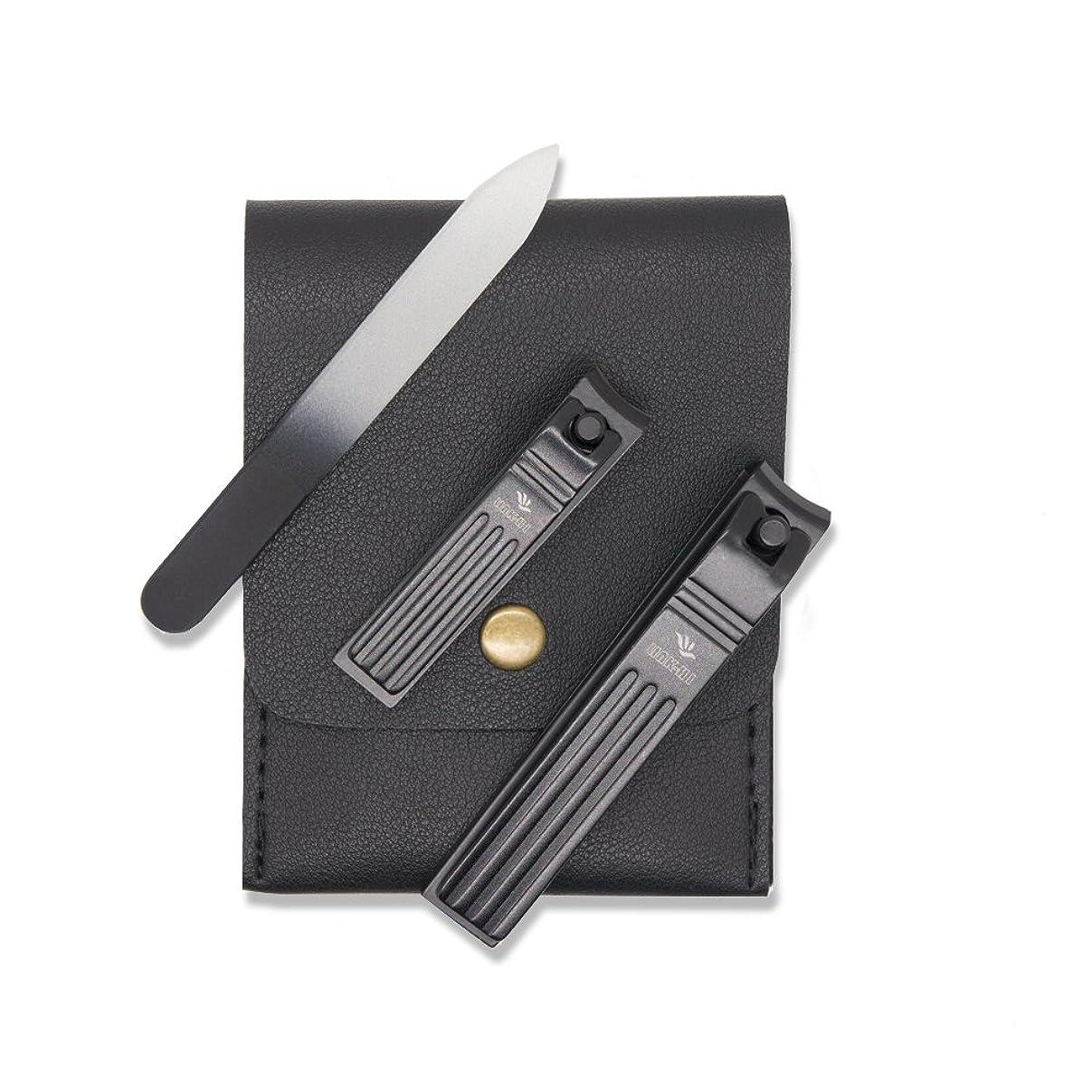 活力土地政府LINK - HI爪クリッパーは、黒いステンレス鋼2 mmの広い顎を開けているカーブした刃指爪と爪爪刃 [並行輸入品]