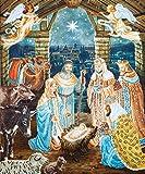 DIY 5D diamante pintura punto de cruz'nacimiento de ángel' diamante bordado mosaico artesanía regalo decoración del hogar