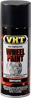 VHT SP183-6 PK (ESP183007-6 PK) Satin Black High Temperature Wheel Paint - 11 oz. Aerosol, (Case of 6)