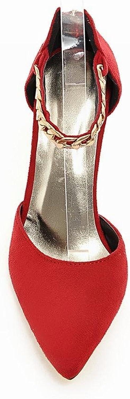 Tirahse Sweet Women's Zipper Chains Sexy Dancing Party Elegance Wedding Pointed Toe High Stiletto Heel Dress Sandals
