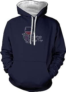 Grandma's Sippy Cup - Rhinestone Wine Unisex Hoodie Sweatshirt