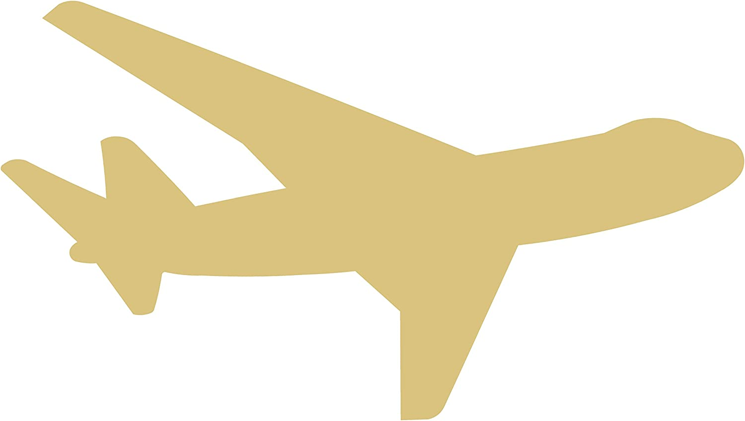 Many Sizes Available Airplane 003 Unfinished Wooden Cutout for Crafting Home /& Room D\u00e9cor and other DIY projects