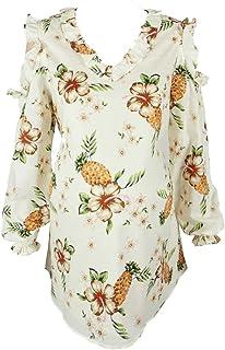 M4M Fashion Maternity Blouse For Women - Cream - small