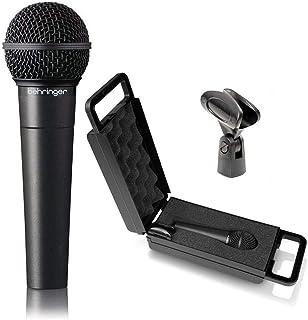 Behringer XM8500 Ultravoice - ميكروفون ديناميكي من بهرنجر، قلبي الشكل، استجابة التردد: 50 هرتز -15 كيلو هرتز، بمثبت وصندوق.