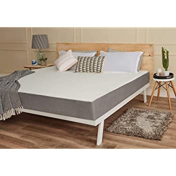 Wake-Fit Orthopaedic Memory Foam Mattress(78x72x5inch)