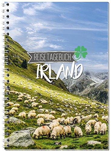 Reisetagebuch Irland zum Selberschreiben/Notizbuch A5 Ringbuch mit 120 Seiten/Packliste, Reiseplan, Zitate, Fun Facts, spannende Reise-Challenges. - Von Sophies Kartenwelt
