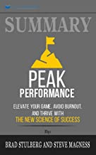 peak performance book summary