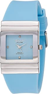 Omax Women's Dial Silicone Band Watch - F008P11I