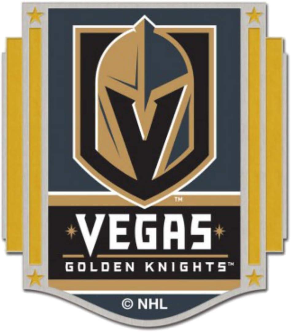 Knights WinCraft Las Vegas Golden Max 50% OFF Rare NHL La Gold Steel Metal Gray