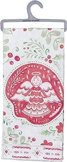 christmas dish towel angel