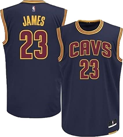 Outerstuff Lebron James Cleveland Cavaliers Navy Blue Alternate Replica Youth Jersey