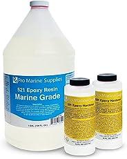 521 Marine Grade Epoxy Resin- 5:1 Marine and Industrial Use - Gallon Kit (Slow Hardener)