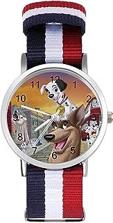 101 dálmatas reloj de ocio para adultos, moderno, hermoso y personalizado aleación Shell Casual Sports reloj de pulsera pa...
