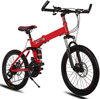 WAZMM Mountain Bike Bicycle Disc Brake Damping Mountain Bike City Bicycle 26 Inch