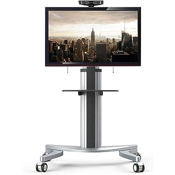 Fleximounts P2 Soporte móvil de Suelo con Estante para TV, LCD, LED de 32