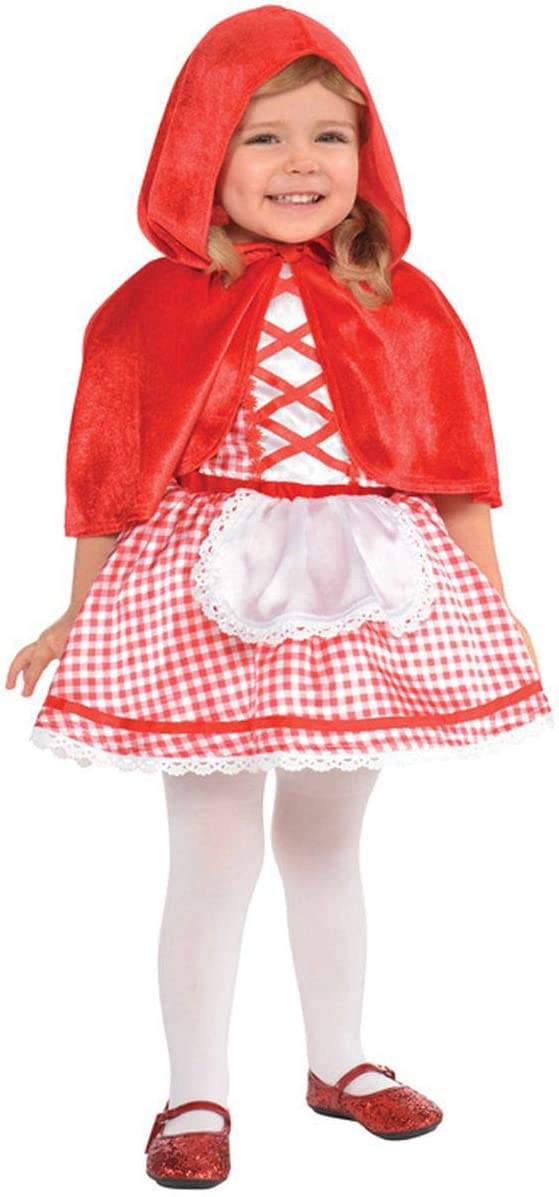 5% OFF Amscan 848190 Baby Little Red Costume Hood Riding 12-24 Max 66% OFF Months