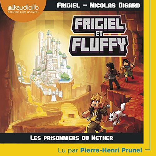 Les Prisonniers du Nether audiobook cover art