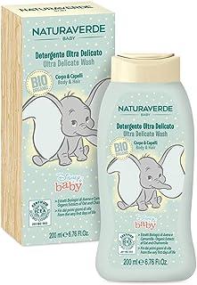 "Organic Disney Baby Ultra Delicate Body & Hair Wash ""Dumbo"" 200ml"