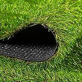 Casa & Giardino Erba sintetica artificiale del prato inglese del prato inglese di 35mm, erba sintetica di erba di alta densità for i cani Animali domestici, paesaggio all'aperto dell'interno