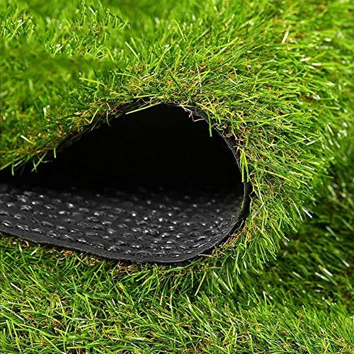 ZIYEYE Künstliche Kunstrasen Kunstrasen 35mm Florhöhe, gefälschter Gras-Rasen mit hoher Dichte for Hundehaustiere, Indoor-Outdoor-Landschaft (Size : 2mx0.5m)