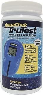 AquaChek 512138 TruTest Digital Reader Swimming Pool Spa Test Kit Strips Refill (1)