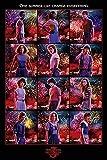 Stranger Things Póster Collage [Season 3] (61cm x 91,5cm) + 2 Marcos Transparentes con suspención