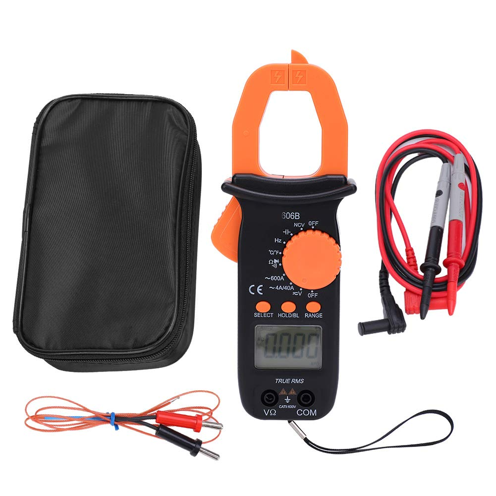 Easy-to-use 606B Digital San Diego Mall Handheld Clamp Multimeter Resistance AC DC Voltage