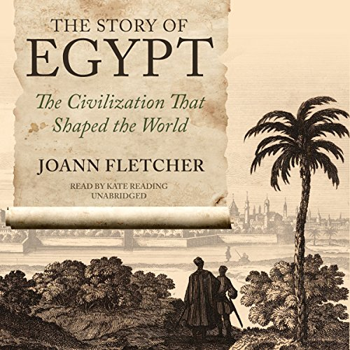 The Story of Egypt audiobook cover art