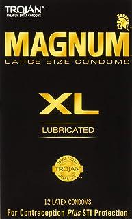 Trojan Magnum XL Large Size Lubricated Condoms