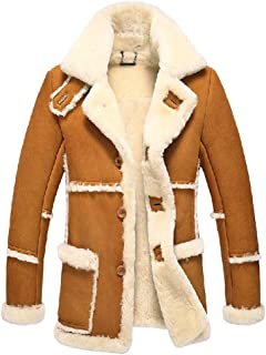 Men's Rancher Shearling Sheepskin Jacket CW878258