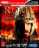 Rome - The Official Strategy Guide (Prima Official Game Guides) by Mark Cohen (30-Sep-2005) Paperback - Prima Games (30 Sept. 2005) - 30/09/2005