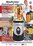 BEST DIRECT Wondermax Visto en TV Extractor de Alta velocidad, Mezcladora eléctrica de Verduras &...