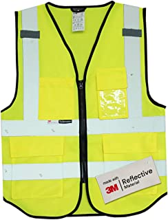 construction safety vest with ipad pocket