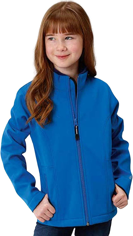 Roper Girls' Blue Softshell Bu 03-298-0780-7108 Under blast sales Max 72% OFF - Jacket